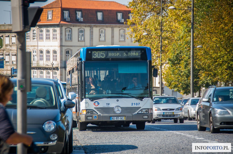 Autobusy Porto Rozkład jazdy Bilety Cena biletu Mapa Schemat linie dworce Przystanki Polski Przewodnik po Porto i północy Portugalii Opis Informacje STCP informator przewóz bagażu