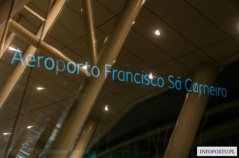 Lotnisko Porto Airport Oporo Lotnisko w Porto Aeroporto Francisco da Sa Carneiro przyloty odloty parking dojazd z do komunikacja miejska infromacje opis mapa wypożyczalnie polski przewodnik po Porto 11