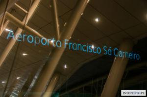 Lotnisko Porto Airport Oporo Lotnisko w Porto Aeroporto Francisco da Sa Carneiro przyloty odloty parking dojazd z do komunikacja miejska infromacje opis mapa wypożyczalnie polski przewodnik po Porto 6