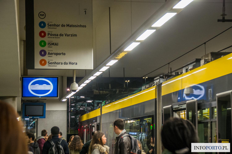 Metro w Porto opis bilety bilet cena ceny schemat mapa Oporto Portugalia Polski przewodnik po Porto informacje praktyczne podróżowanie stacji zony