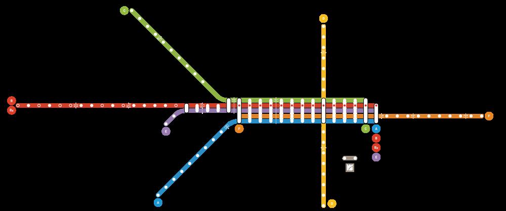 Metro w Porto - schemat linii Opis informacje przewodnik Metro do porto mapa ceny bilety opis