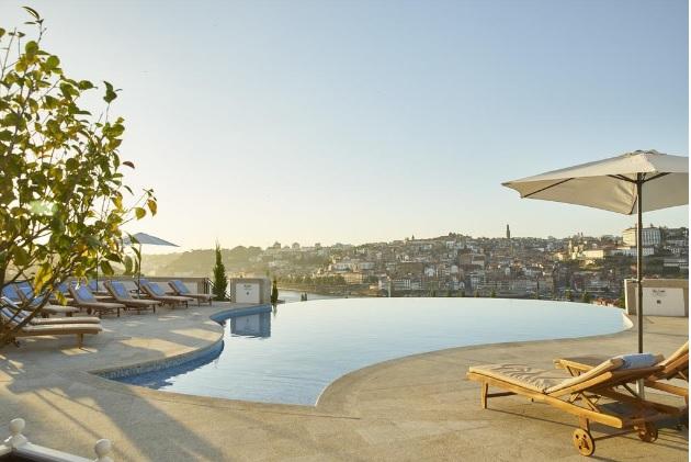 Polecane hotele w Porto Vila Nova de Gaia Północna Portugalia hotele pięciogwiazdkowe luksusowe najlepsze eleganckie gdzie spać w Porto Noclegi hotele obiekty noclegowe przewodnik 4
