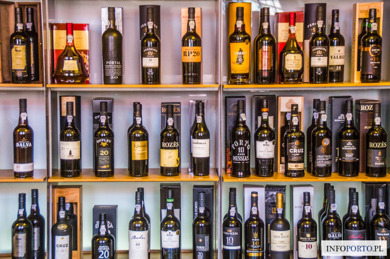 Wino Porto opis rodzaje gatunki informacje cena region winnice produkcja historia wine wina portugalskie co to jest alkohol przewodnik Portugalia Oporto bary piwnice rodzaje polecane