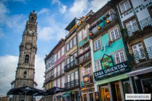 Wieża Kleryków Porto Torre dos Clerigos Co warto zobaczyć w Porto zabytki i atrakcje turystyczne polski przewodnik Wieza Tower Opis Zdjęcia Fotografie