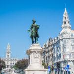 Avenida dos Aliados, czyli Aleja Aliantów – serce Porto