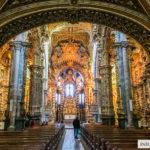 Kościół św. Franciszka w Porto i dekoracyjne bogactwo, które zachwyca!