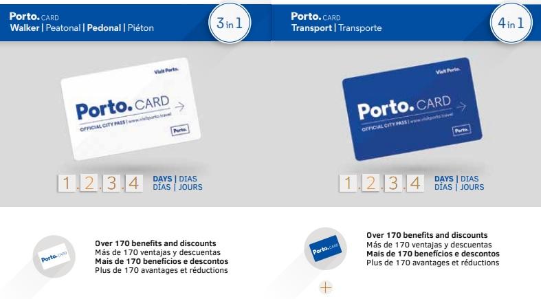 Porto Card turystyczna karta Porto Oport opis aktualna cena gdzie kupić czy się opłaca zniżki rabaty promocje online PortoCard PortoKarta Przewodnik po Porto i Douro