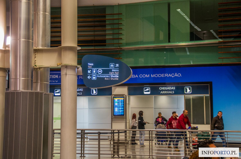 Lotnisko Porto Airport Oporo Lotnisko w Porto Aeroporto Francisco da Sa Carneiro przyloty odloty parking dojazd z do komunikacja miejska infromacje opis mapa wypożyczalnie polski przewodnik po Porto