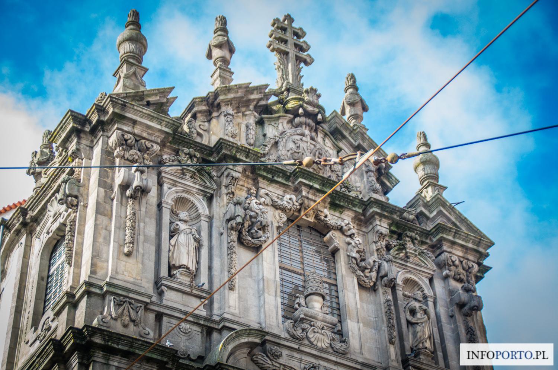 Kościół Kleryków w Porto Polski Przewodnik Opis Zwiedzanie Historia Co zobaczyć w Porto igreja dos clerigos Wieża Kleryków fotografie zdjęcia zabytki i atrakcje