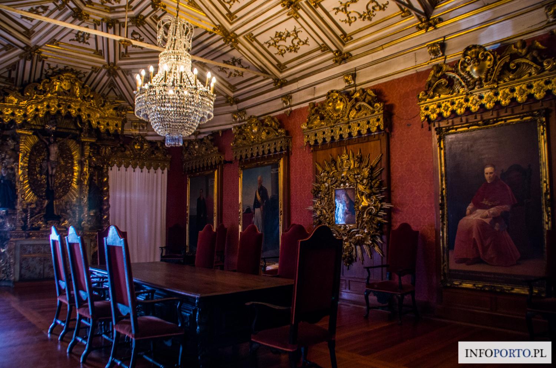 Pałac Giełdy Porto Giełda Zdjęcia Fotografie Zabytki i atrakcje turystyczne Porto Polski Lokalny Przewodnik Palacio da Bolsa Oporto
